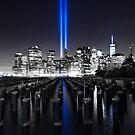 911 Memorial Lights by Euge  Sabo