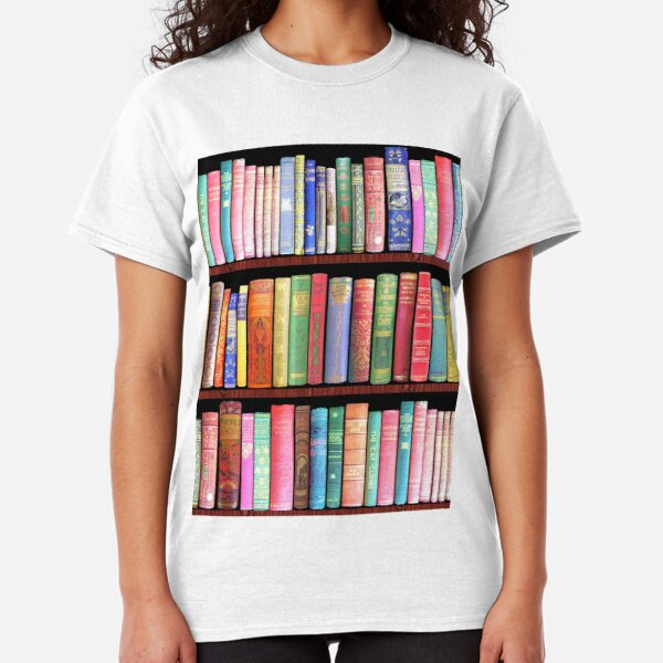 Bookworm Antique books Classic T-Shirt