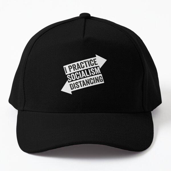 Funny Socialism Distancing Anti Socialism Baseball Cap