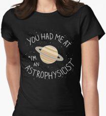 I'm An Astrophysicist Women's Fitted T-Shirt