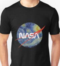 NASA Starry Worm Unisex T-Shirt