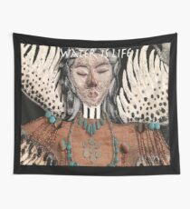 Water Is Life- Extra Large Wings Tapestry
