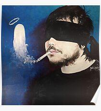 Death Spells Frank Iero Poster