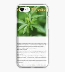 Herbal Calendar Teas- Cover iPhone Case/Skin