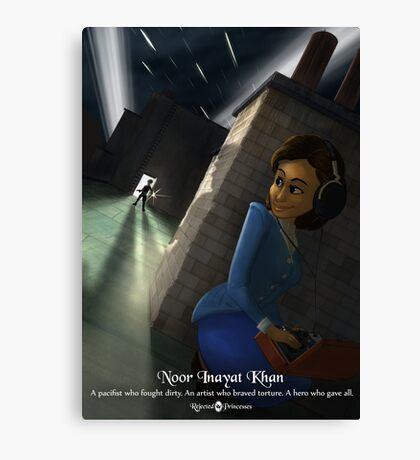 Noor Inayat Khan - Rejected Princesses Canvas Print