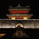 Bell Tower of Xi'an by BILL JOSEPH
