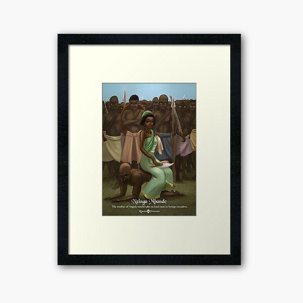 Nzinga Mbande - Rejected Princesses Framed Art Print