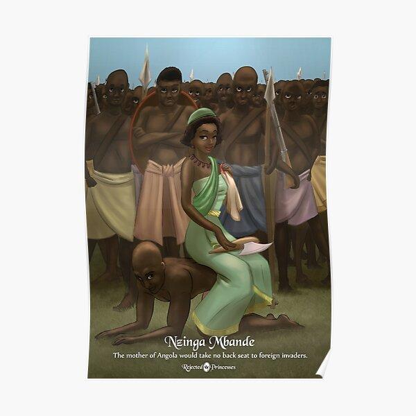 Nzinga Mbande - Rejected Princesses Poster
