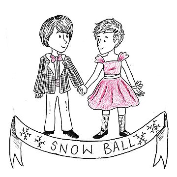 Mike and El at the Snow Ball by srw110