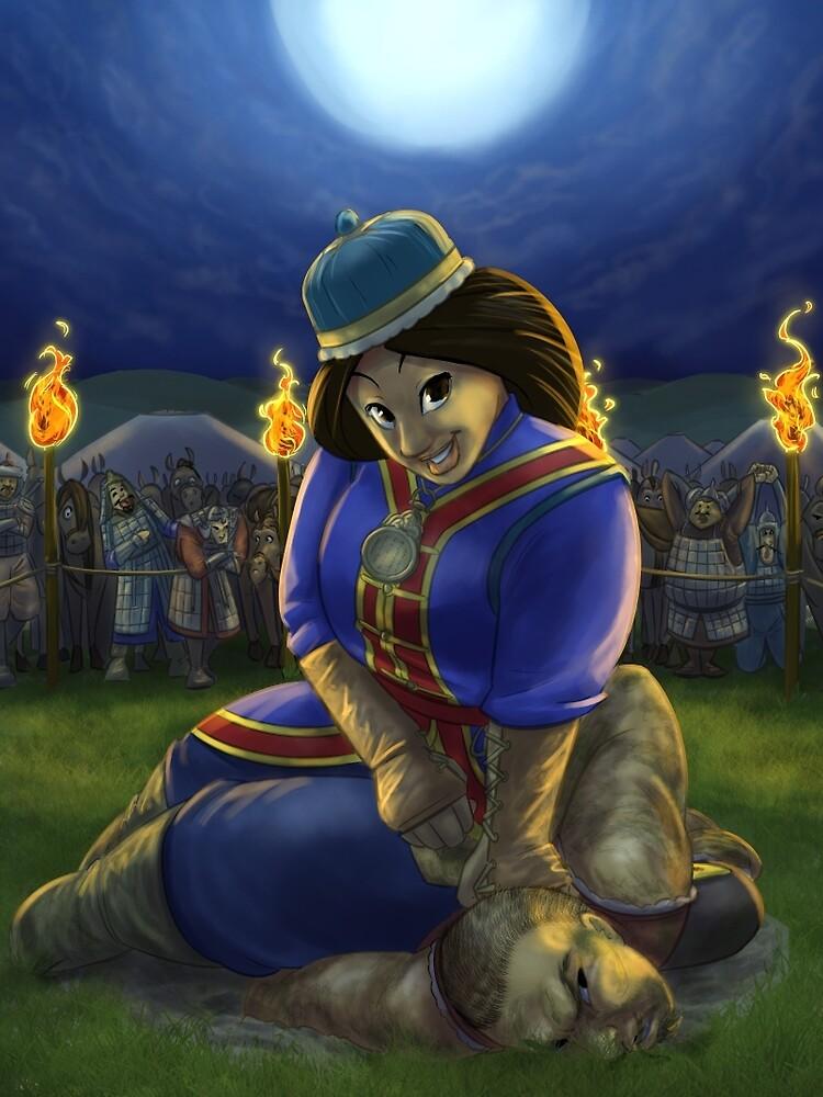 Khutulun - Rejected Princesses by jasonporath