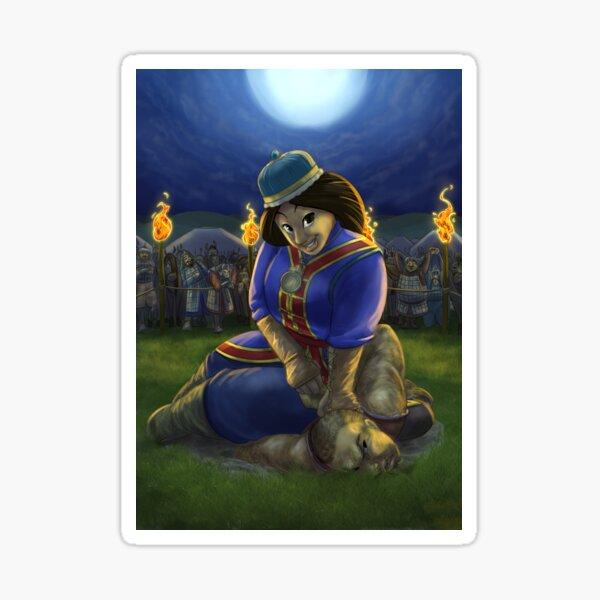 Khutulun - Rejected Princesses Sticker