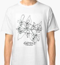 Floral Constellation - Gemini Classic T-Shirt