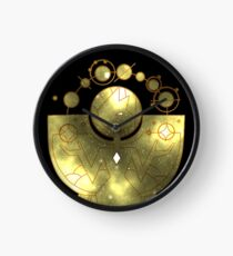 Steven Universe - Yellow Diamond (Galaxy Design) Clock