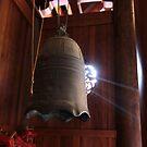 Jing'an Temple bell by BILL JOSEPH