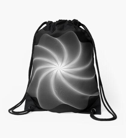 Polar Flower 003 Drawstring Bag