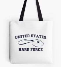 United States Hare Air Force Bunny Tote Bag