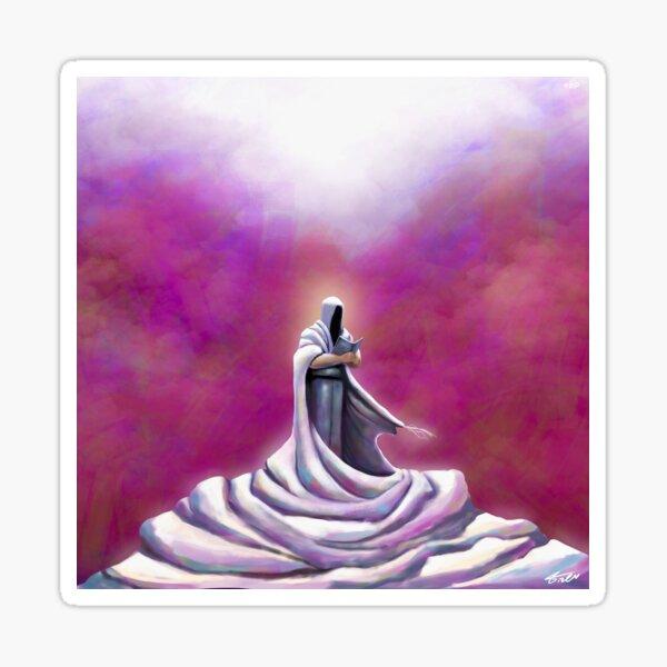 The prayer shawl (the Tallit) Sticker