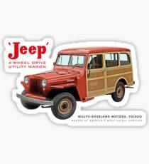 Jeep Wagons Sticker