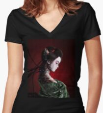 Autonomous Women's Fitted V-Neck T-Shirt