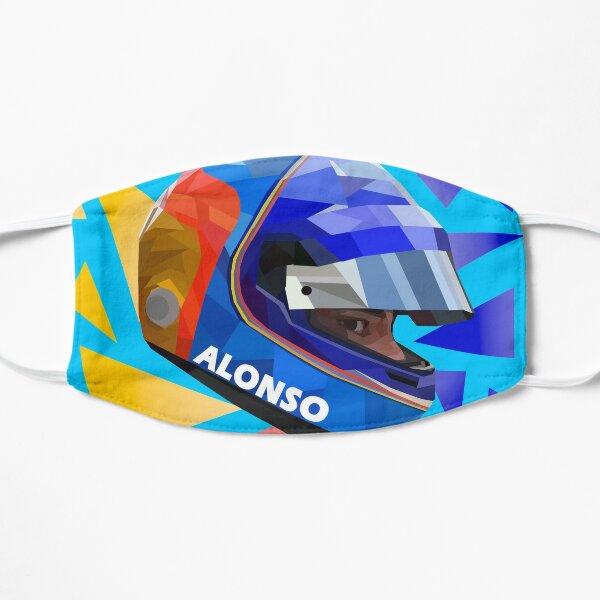 Casque de Fernando Alonso Masque sans plis