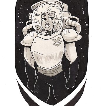 Space Woman by NomadicPlanet