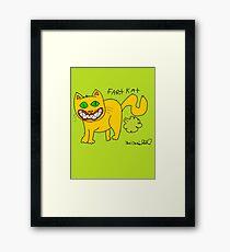 Fart Kat Framed Print