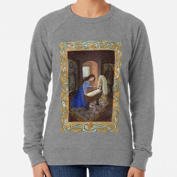 Selkie mother and baby Lightweight Sweatshirt