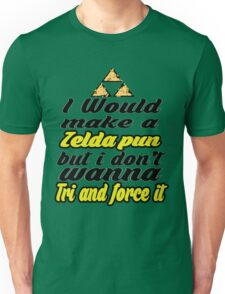 Triforce - Legend of Zelda - phunny  Unisex T-Shirt