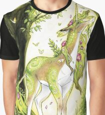 Unicorn - Heart of the Forest Graphic T-Shirt