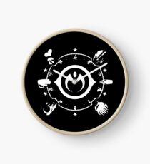 Jojo - Morioh Stands (White) Clock