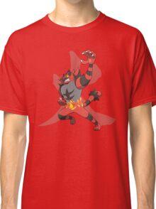 Incineroar With Fire kanji Classic T-Shirt