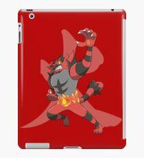 Incineroar With Fire kanji iPad Case/Skin