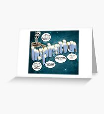 This Month's Sponsor - Inspiration Greeting Card