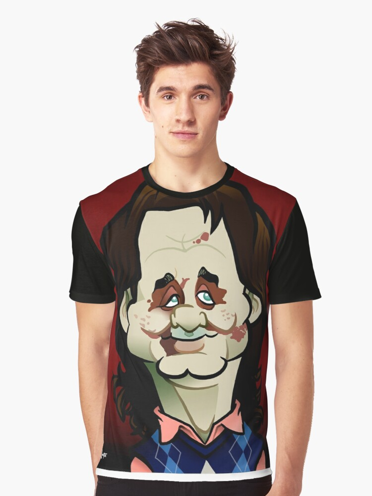 Zombie Bill Graphic T-Shirt Front