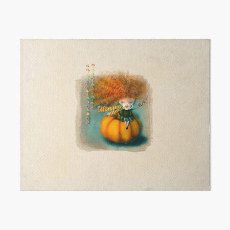 Cozy autumn  Art Board Print