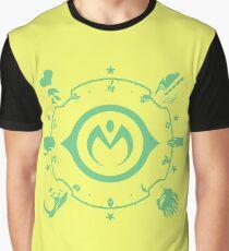 Jojo - Morioh Stands (Lime) Graphic T-Shirt