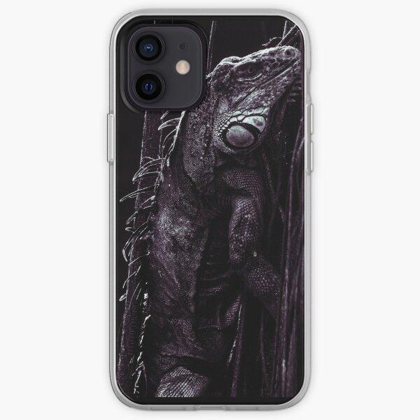 Black Ctenosaur iPhone Soft Case