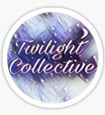 twilight collective logo sticker/poster Sticker