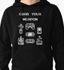 Classic / Old-School Video Game Controllers - Grab your Weapon T-Shirt