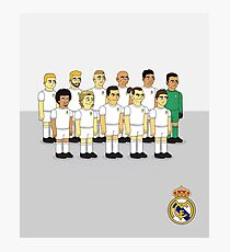 Real Madrid as simpson style Photographic Print