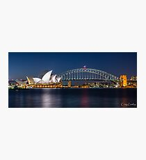 Sydney Icons Photographic Print