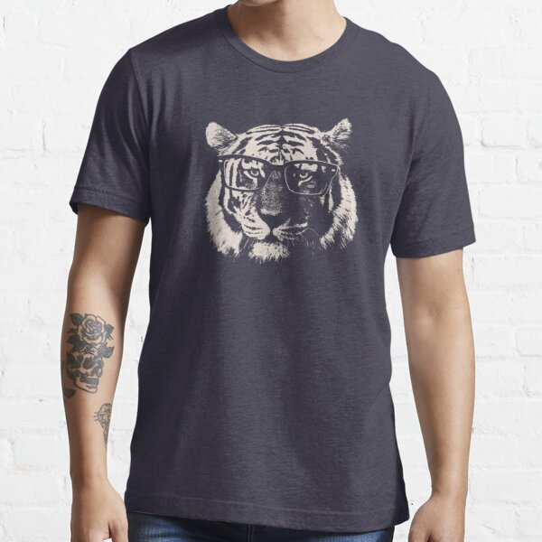 Hipster Tiger With Glasses Essential T-Shirt