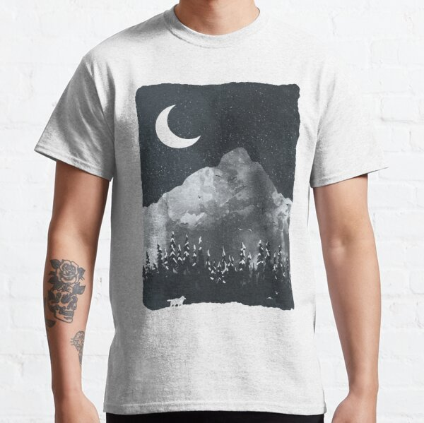 Winter Finds the Wolf... Classic T-Shirt