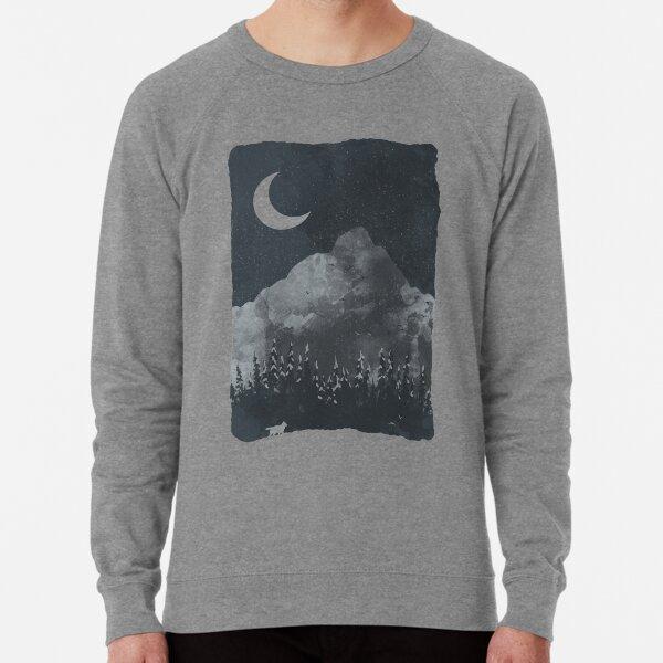 Winter Finds the Wolf... Lightweight Sweatshirt