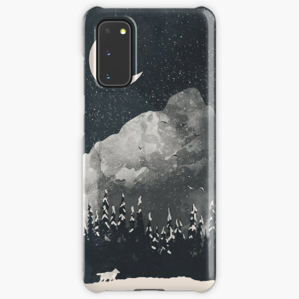 Winter Finds the Wolf... Samsung Galaxy Snap Case