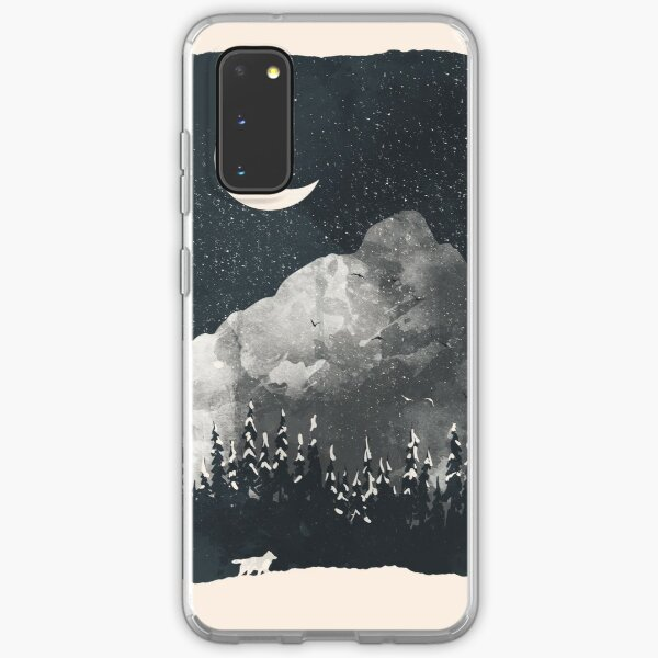 Winter Finds the Wolf... Samsung Galaxy Soft Case