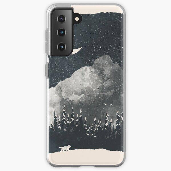Winter Finds the Wolf... Samsung Galaxy Soft Case