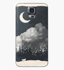 Winter Finds the Wolf... Case/Skin for Samsung Galaxy