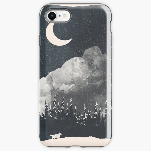 Winter Finds the Wolf... iPhone Tough Case