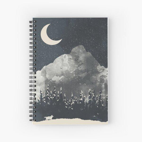 Winter Finds the Wolf... Spiral Notebook